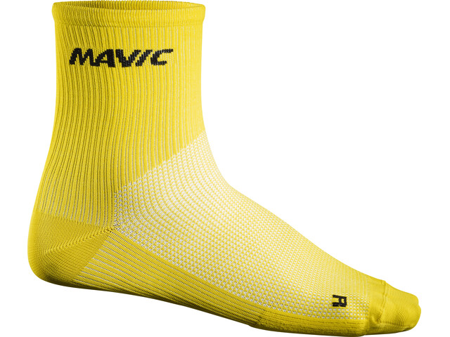 Mavic Cosmic Mid Socks Yellow
